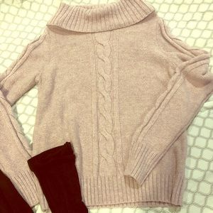 Light purple/gray Fall sweater